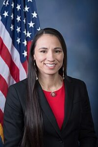 Virtual Event: Rep. Sharice Davids @ Zoom (credentials will be provided to all registered users) | Kansas City | Missouri | United States