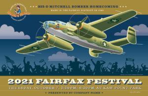 Fairfax Festival 2021: B25-D Mitchell Bomber Homecoming @ Kaw Point Park | Kansas City | Kansas | United States
